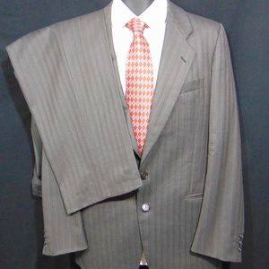 MANI by GIORGIO ARMANI 2 Button Suit 40 L Pants-34